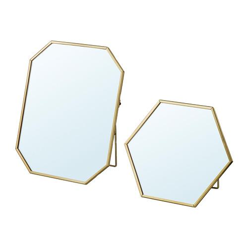 LASSBYN - 鏡,2件套裝, 金色 | IKEA 香港及澳門 - PE771724_S4