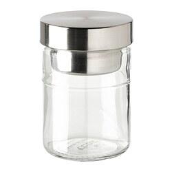 DAGKLAR - 瓶子連內隔, 透明玻璃/不銹鋼 | IKEA 香港及澳門 - PE828497_S3