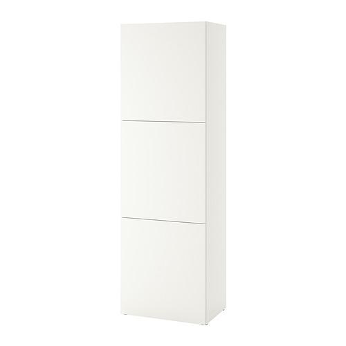 BESTÅ - 層架組合連門, white Lappviken/white | IKEA 香港及澳門 - PE828531_S4