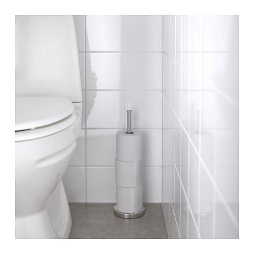 BROGRUND - 廁紙架座, 不銹鋼 | IKEA 香港及澳門 - PE685562_S4