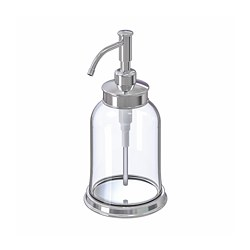 BALUNGEN - soap dispenser, chrome-plated | IKEA Hong Kong and Macau - PE728418_S3