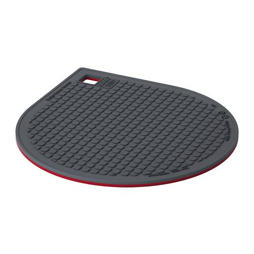 IKEA 365+ GUNSTIG - 磁性隔熱墊, 紅色/深灰色 | IKEA 香港及澳門 - PE728462_S4