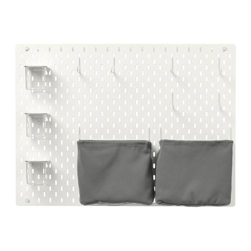 SKÅDIS - 洞洞板套裝, 白色   IKEA 香港及澳門 - PE728474_S4