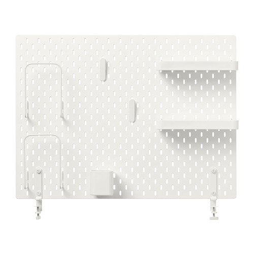 SKÅDIS - 洞洞板套裝, 白色   IKEA 香港及澳門 - PE728478_S4