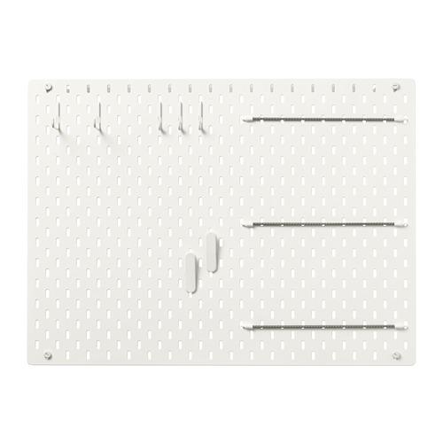SKÅDIS - 洞洞板套裝, 白色   IKEA 香港及澳門 - PE728476_S4