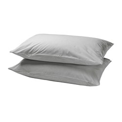 DVALA - 枕袋, 淺灰色 | IKEA 香港及澳門 - PE771827_S3