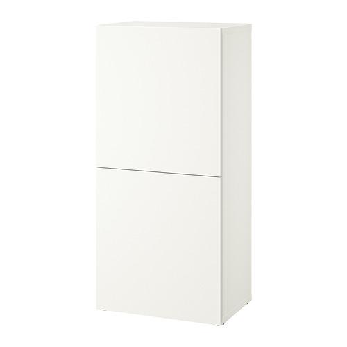 BESTÅ - 層架組合連門, white Lappviken/white | IKEA 香港及澳門 - PE828570_S4