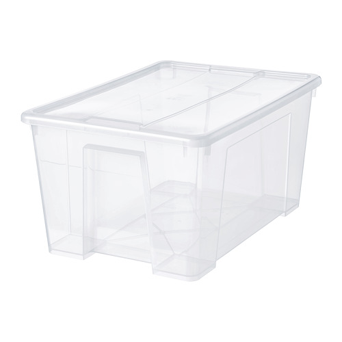 SAMLA - 45 litres box with lid | IKEA Hong Kong and Macau - PE728492_S4