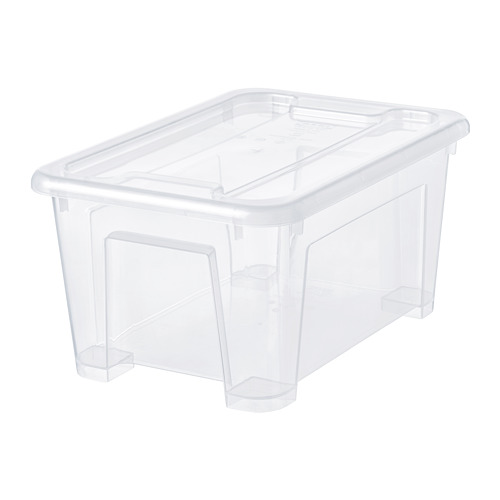 SAMLA - 5 litres box with lid | IKEA Hong Kong and Macau - PE728494_S4