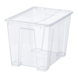 SAMLA - 22 litres box with lid | IKEA Hong Kong and Macau - PE728499_S3