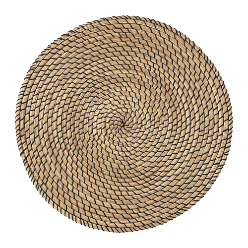 LÄTTAD - place mat, seagrass/black | IKEA Hong Kong and Macau - PE728547_S4