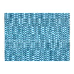 GALLRA - 餐墊, 藍色/圖案 | IKEA 香港及澳門 - PE728548_S3