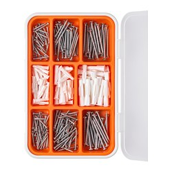 FIXA - 260-piece screw and plug set | IKEA Hong Kong and Macau - PE728598_S3