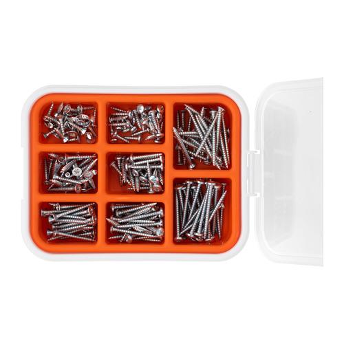 FIXA 木板用螺絲,200件套裝