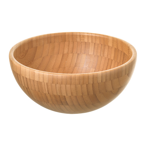 BLANDA MATT - serving bowl, bamboo, 20cm | IKEA Hong Kong and Macau - PE728640_S4