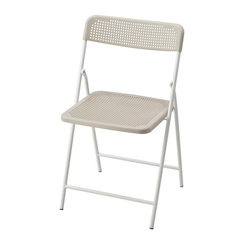 TORPARÖ - 椅子,室內/戶外用, 可摺合 白色/米黃色   IKEA 香港及澳門 - PE771906_S4