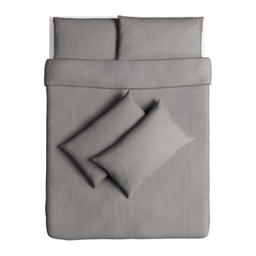 ÄNGSLILJA 雙人被套枕袋套裝