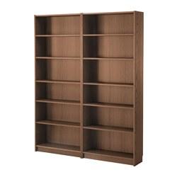 BILLY - 書架, 褐色 梣木飾面 | IKEA 香港及澳門 - PE576222_S3