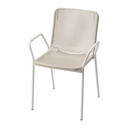 TORPARÖ - chair with armrests, in/outdoor, white/beige | IKEA Hong Kong and Macau - PE771902_S3