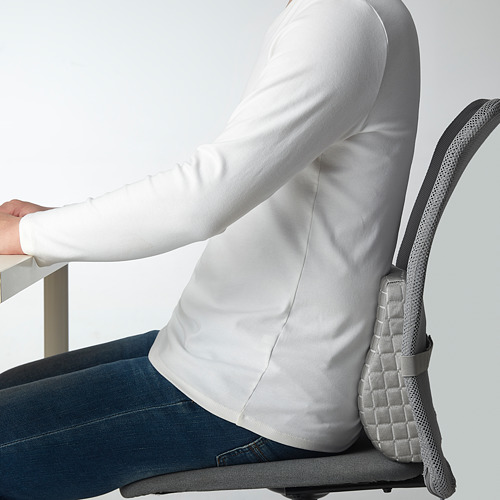 BORTBERG - lumbar cushion, grey | IKEA Hong Kong and Macau - PE828727_S4