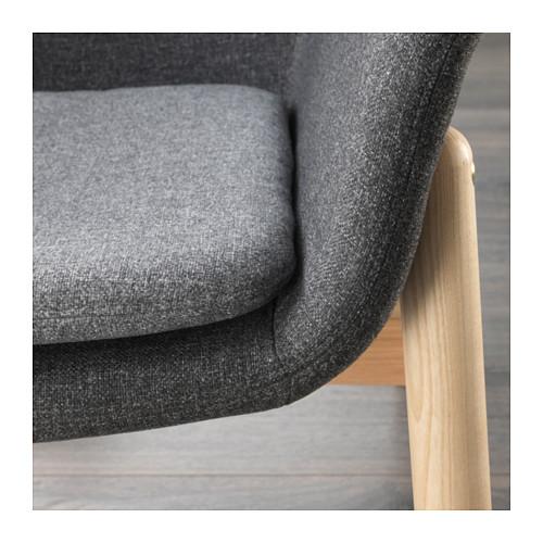 VEDBO - high-back armchair, Gunnared dark grey | IKEA Hong Kong and Macau - PE638415_S4
