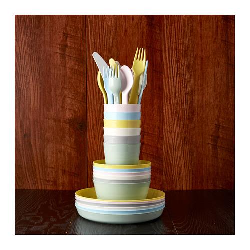 KALAS - 18-piece cutlery set, mixed colours | IKEA Hong Kong and Macau - PE685646_S4