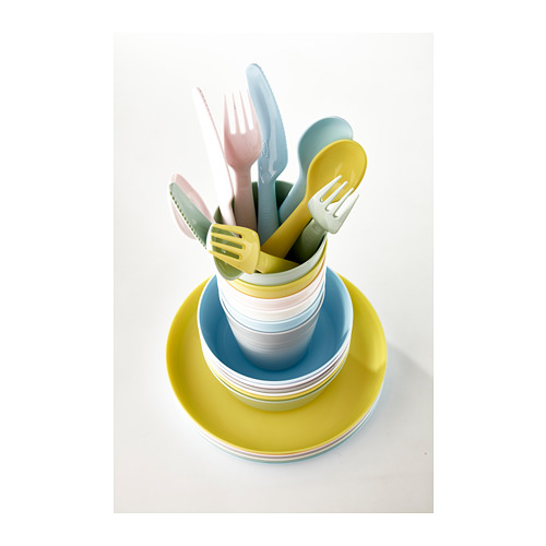 KALAS - 18-piece cutlery set, mixed colours | IKEA Hong Kong and Macau - PE685649_S4