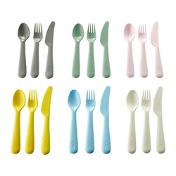 KALAS - 18-piece cutlery set, mixed colours | IKEA Hong Kong and Macau - PE685647_S3