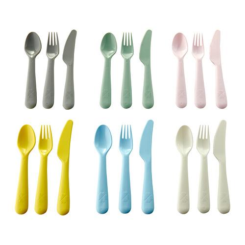 KALAS - 18-piece cutlery set, mixed colours | IKEA Hong Kong and Macau - PE685647_S4