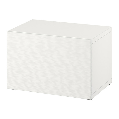 BESTÅ - shelf unit with door, white/Laxviken white | IKEA Hong Kong and Macau - PE828769_S4
