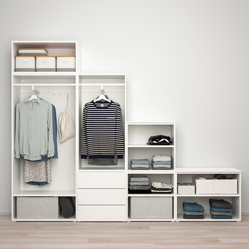 PLATSA - 五門衣櫃連三個抽屜, white/Fonnes white | IKEA 香港及澳門 - PE828782_S4