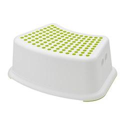 FÖRSIKTIG - children's stool, white/green | IKEA Hong Kong and Macau - PE728740_S3