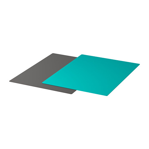 FINFÖRDELA - bendable chopping board, dark grey/dark turquoise | IKEA Hong Kong and Macau - PE728745_S4