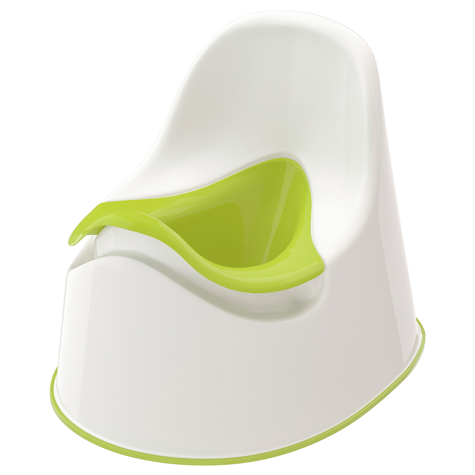 2 X Ikea Potty Training Toilet Seat White//Green