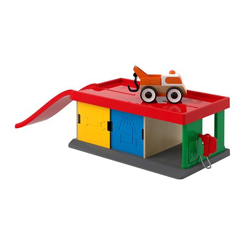 LILLABO 玩具車庫連拖車