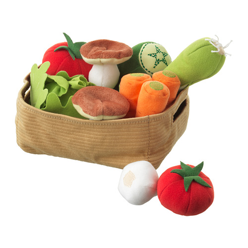 DUKTIG - 蔬菜玩具,14件套裝 | IKEA 香港及澳門 - PE728809_S4
