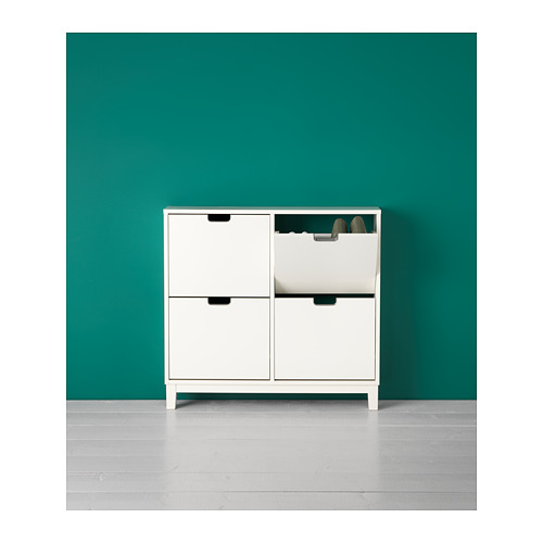 STÄLL - shoe cabinet with 4 compartments, white | IKEA Hong Kong and Macau - PH143819_S4