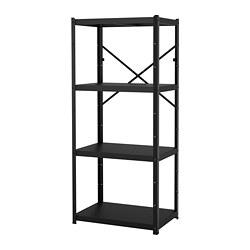 BROR - 層架組合, 85x55x190 cm, 黑色   IKEA 香港及澳門 - PE688382_S3