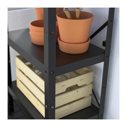 BROR - 層架組合, 65x40x110 cm, 黑色 | IKEA 香港及澳門 - PE688384_S4