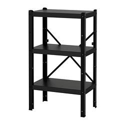 BROR - 層架組合, 65x40x110 cm, 黑色   IKEA 香港及澳門 - PE688399_S3