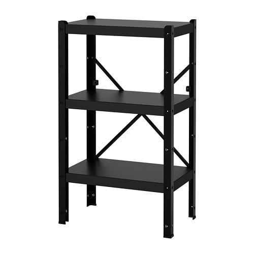 BROR - 層架組合, 65x40x110 cm, 黑色 | IKEA 香港及澳門 - PE688399_S4
