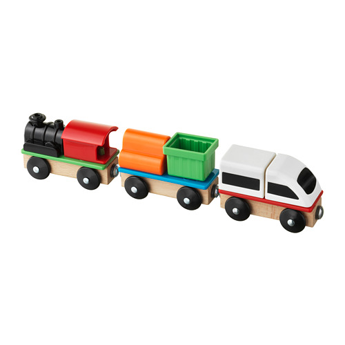 LILLABO - 火車玩具組合, 3件套裝 | IKEA 香港及澳門 - PE728819_S4