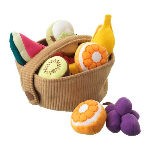 DUKTIG 水果籃玩具,9件套裝