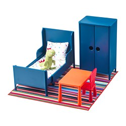 HUSET - doll's furniture, bedroom | IKEA Hong Kong and Macau - PE728824_S3