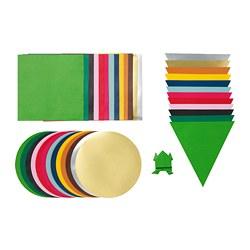 LUSTIGT - 手工紙, 多種顏色/多種形狀 | IKEA 香港及澳門 - PE728831_S3