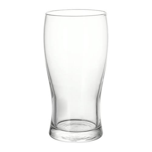 LODRÄT - 啤酒杯, 透明玻璃   IKEA 香港及澳門 - PE728846_S4