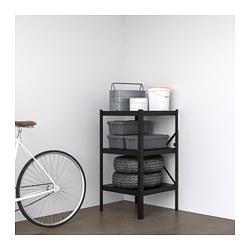 BROR - 層架組合, 65x55x110 cm, 黑色   IKEA 香港及澳門 - PE688392_S3