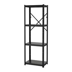 BROR - 層架組合, 65x40x190 cm, 黑色   IKEA 香港及澳門 - PE688378_S3