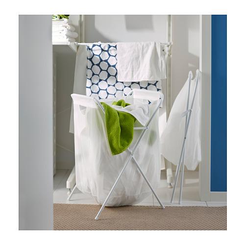 JÄLL - laundry bag with stand, white | IKEA Hong Kong and Macau - PH136104_S4