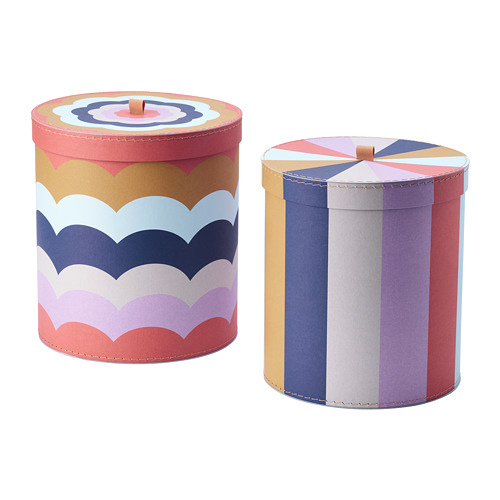 ILLBATTING 裝飾盒,2件套裝